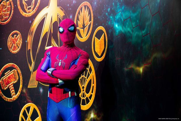 Les visiteurs pourront prendre la pose avec Spider-Man dans la Super Hero Station
