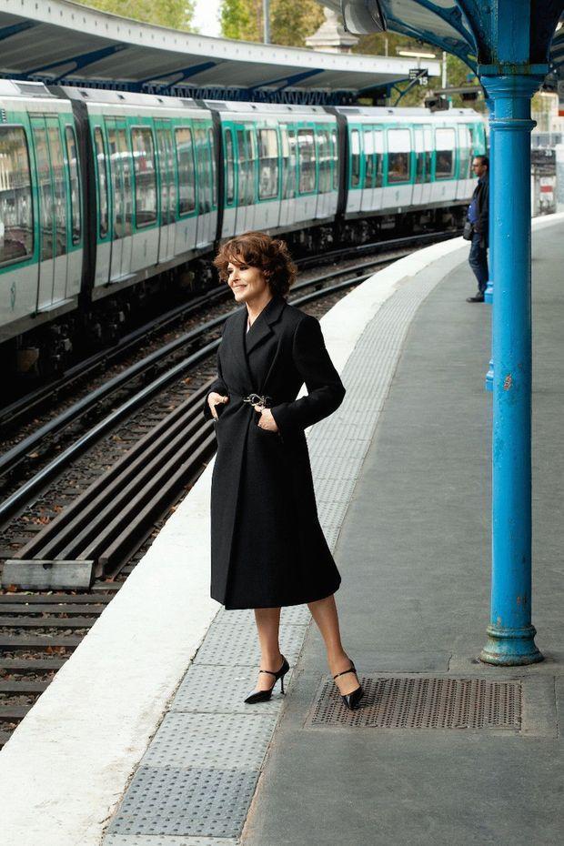 Station Quai-de-la-Rapée, à Paris. Une star qui cultive les décalages.
