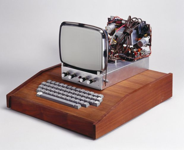 L'ordinateur Apple I, 1976.