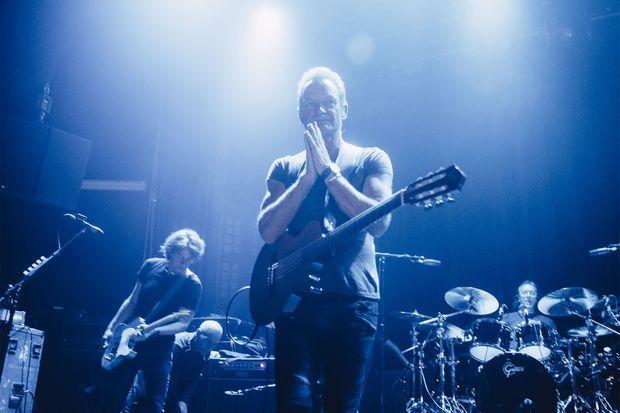 Sting a chanté ses plus grands tubes.