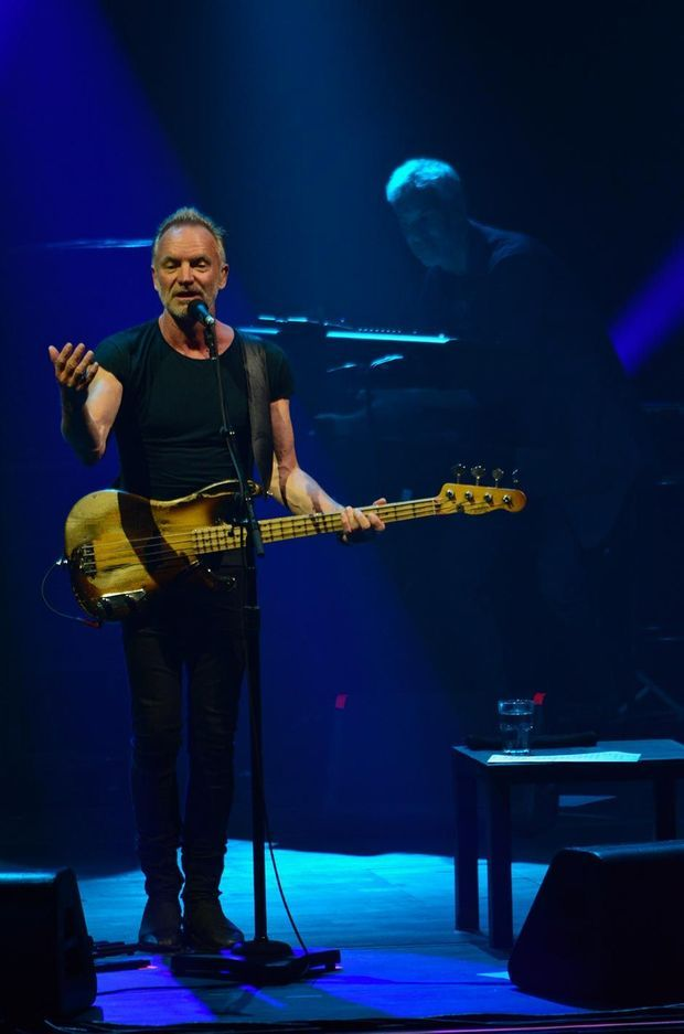 Sting à la Seine Musicale, le 28 mai 2019.