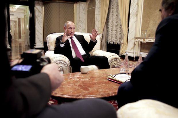 Vladimir Poutine interrogé par Oliver Stone