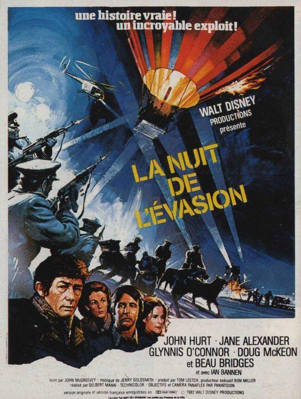 L'affiche de «La Nuit de l'évasion», le film inspiré de l'histoire des familles Strelzyk et Wetzel, sorti en 1982.