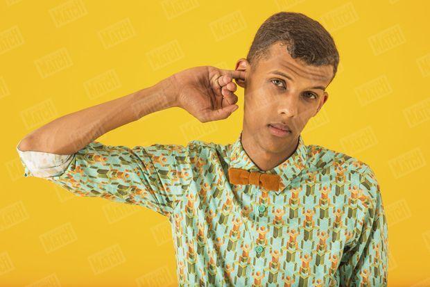 Stromae, vu par notre photographe Vincent Capman, le 23 juillet 2013 à Bruxelles.