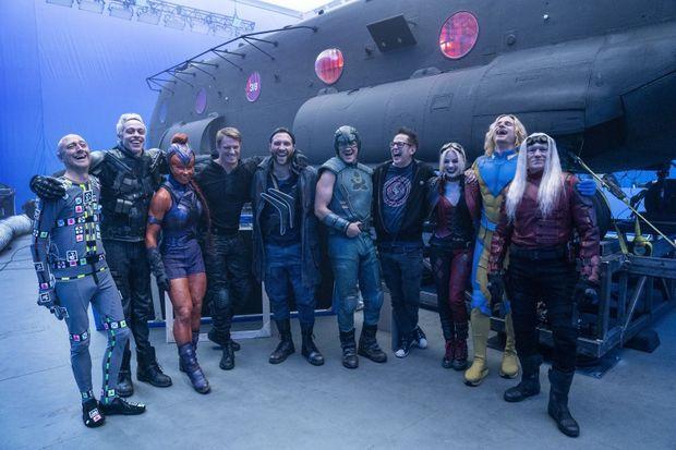 """L'équipe de """"The Suicide Squad"""""""