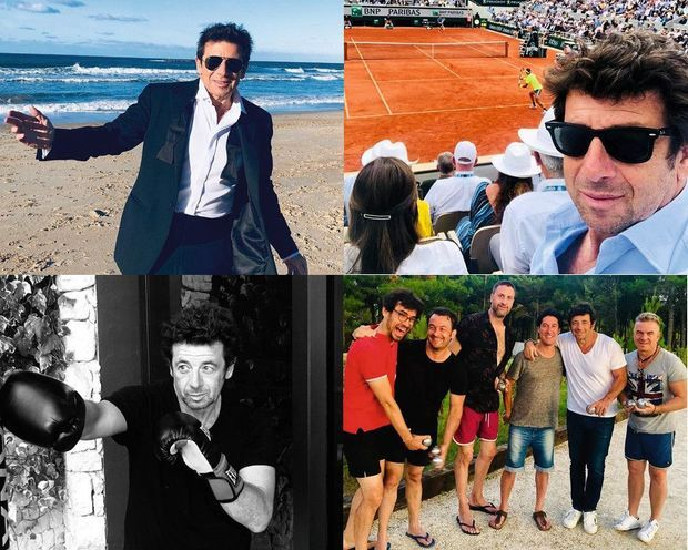 Sur son compte Instagram cette année, avant que sa vie bascule: à Biarritz le 11 janvier, à Roland-Garros le 9 juin, à l'entraînement le 19 juillet et avec ses potes le 3 août.