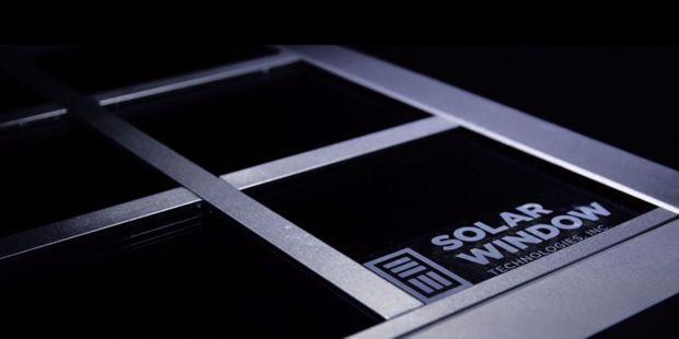 La fenêtre solaire de SolarWindow Technologies