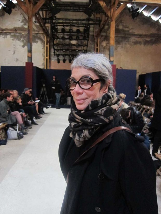 Sylvie Grumbach, eminence de la mode, grand soutien des jeunes createurs, pilier du Festival