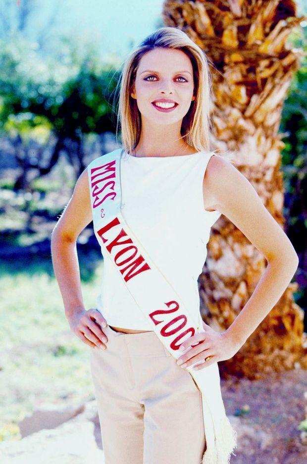Sylvie Tellier, Miss Lyon 2001.