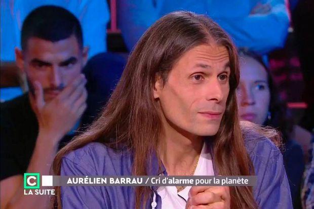 Aurélien Barrau à la télévision.