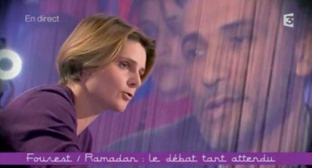 le clash entre Tariq Ramadan et Caroline Fourest à « Ce soir (ou jamais !) ».