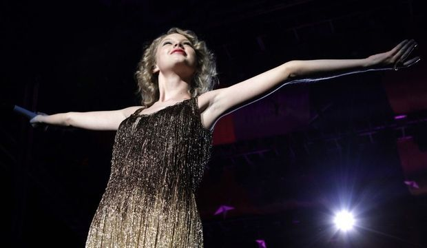Taylor Swift a Singapoure -