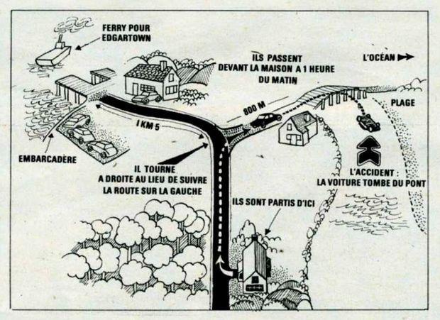 Croquis publié dans Paris Match n°1056, daté du 2 août 1969.