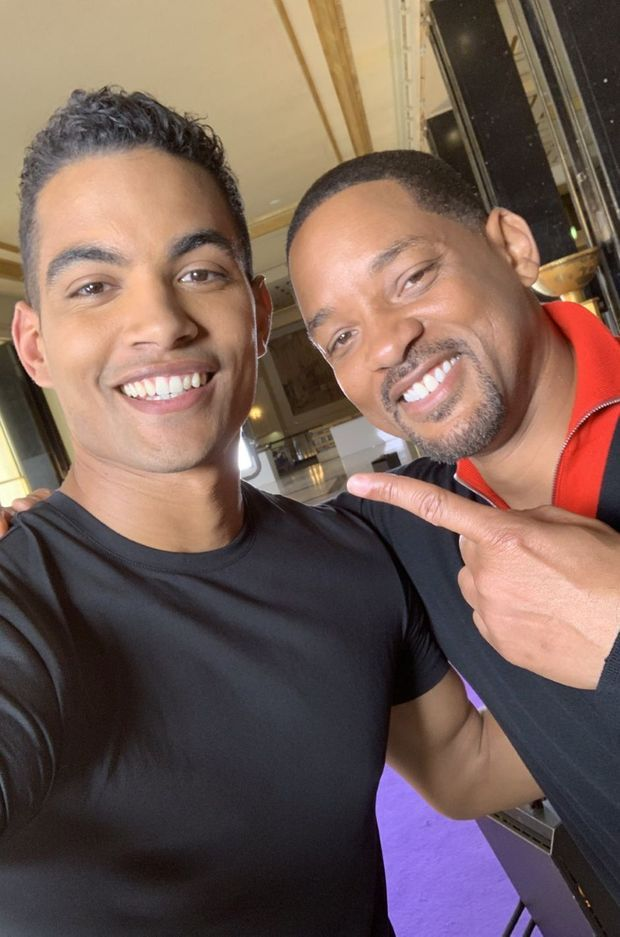 Terence Telle et Will Smith