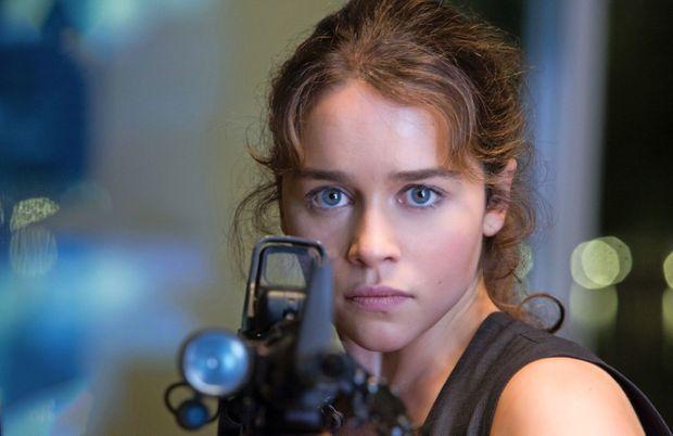 """Emilia Clarke dans """"Terminator Genisys""""."""