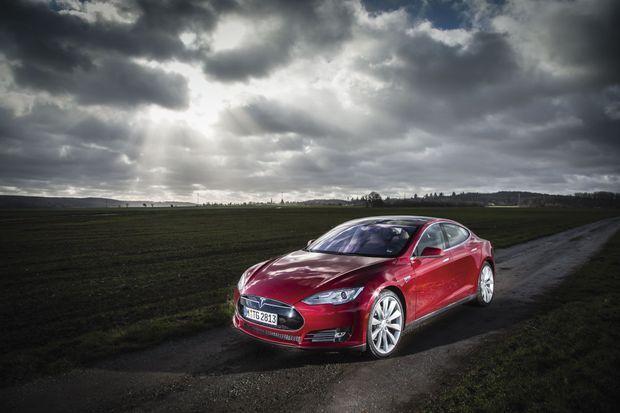 La très élégante (et très chère) Tesla Model S.