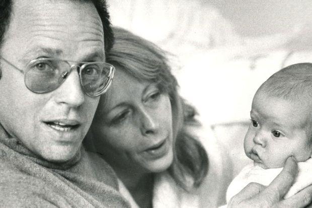 Thierry Roland, Françoise Boulain et Gary Roland.