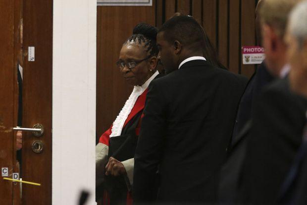 La juge Thokozile Masipa.