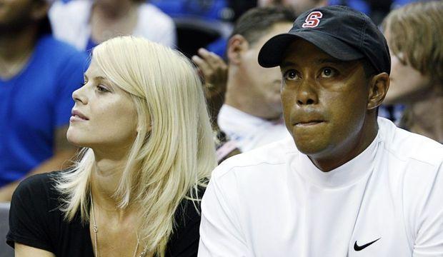 Tiger Woods et Elin-
