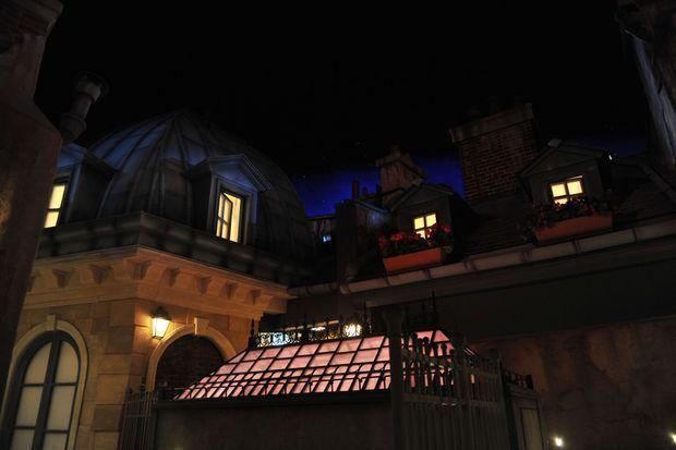 Les toits de Paris, version Ratatouille.
