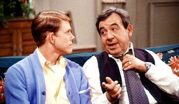 Tom Bosley avec Ron Howard Happy Days-