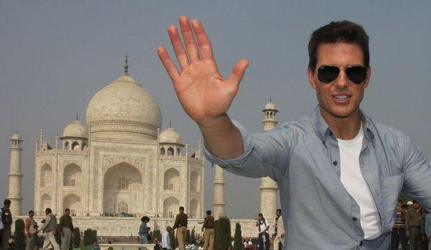Tom Cruise au Taj Mahal-