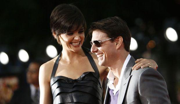 Tom Cruise et Katie Holmes-