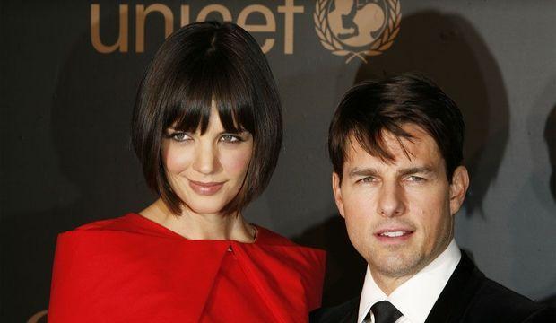 Tom Cruise et Katie Holmes -