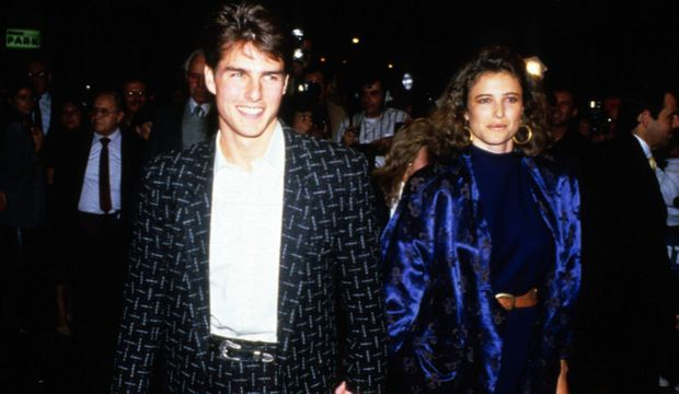 Tom Cruise et Mimi Rogers -