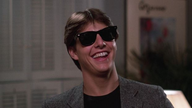 "Tom Cruise dans ""Risky Business"" (1983)"