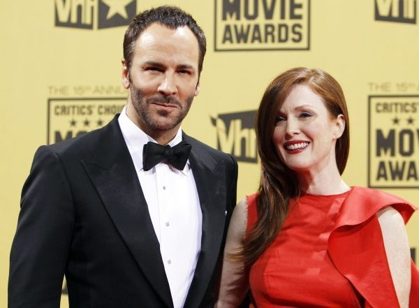 Tom Ford et Julianne Moore-