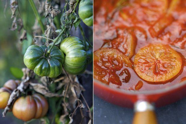 Que ce soit la Purple calabash, tendre et boursouflée, ci-contre, ou la célèbre Cœur de bœuf, qui peut atteindre 5 kilos, les légumes du Prince échappent aux diktats du calibrage. Du potager à l'assiette dans la matinée : un circuit ultra-court pour ces tomates fondantes au goût sucré servies en saison au Bar à tomates du château par la chef Laurence Takus.