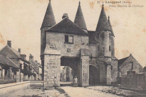 Longpont avant la Première guerre mondiale.