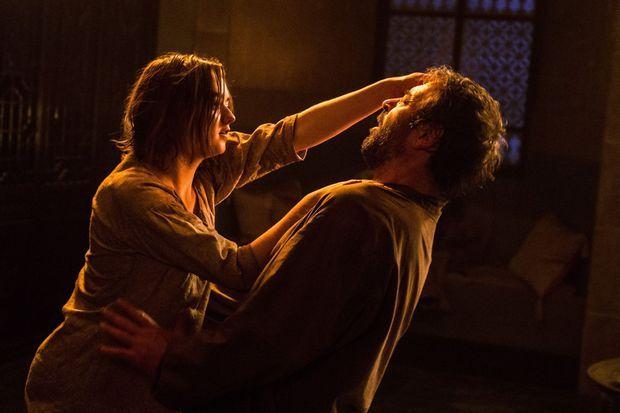 """Trois jours de tournage pour filmer la mort de Meryn Trant (Ian Beattie) dans """"Game of Thrones""""."""