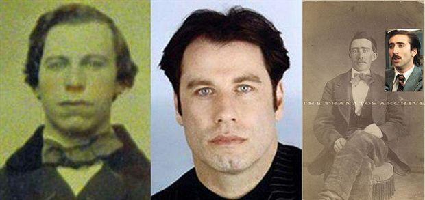Travolta, Nicolas Cage et leur double.