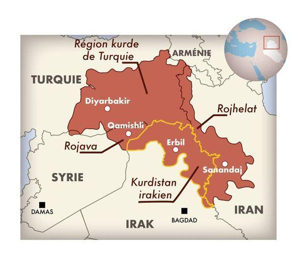Trente millions de Kurdes, quatre pays