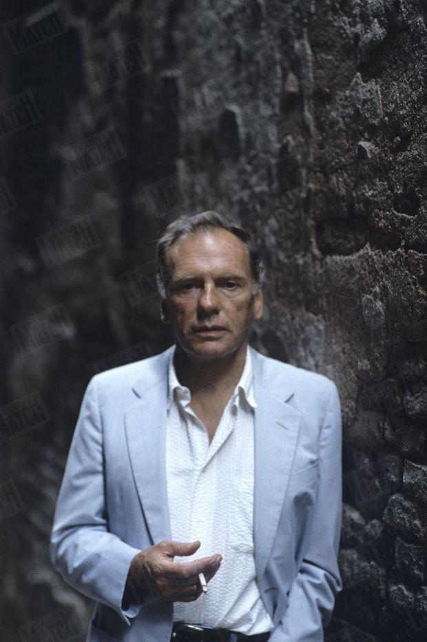 Jean-Louis Trintignant à l'occasion du 44e festival international du film de Venise, le 2 septembre 1987.