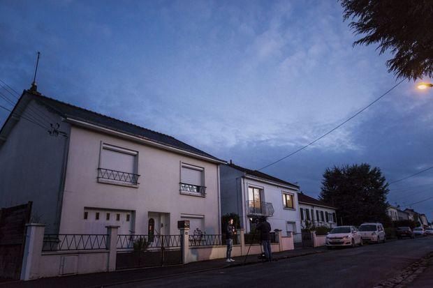 Orvault (Loire-Atlantique). La maison où parents et enfants ont été assassinés dans la nuit du 16 au 17 février.