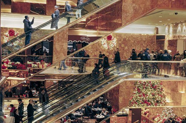 L'atrium, haut de 20 mètres, grimpe sur six étages et fait partie des 1 500 mètres carrés ouverts au public.
