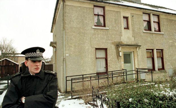La maison du tueur Thomas Hamilton à Dunblane.