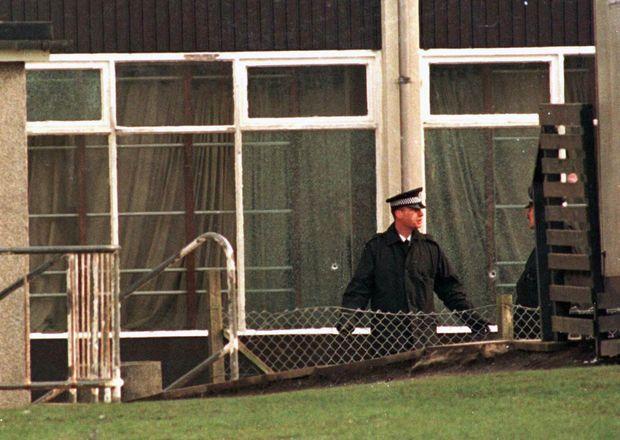 """« """"Le Mal nous a rendu visite et nous ignorons pourquoi, a déclaré Ron Taylor, le directeur de l'établissement. J'ai découvert le pire des cauchemars."""" » - Paris Match n°2444, 28 mars 1996"""