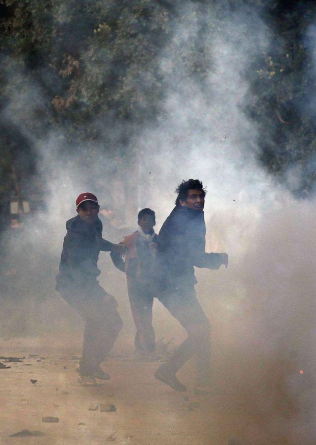 Le soulèvement de Tunis, le 14 janvier 2011.