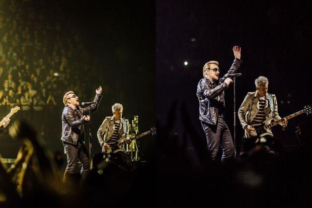 U2 sur scène à Paris