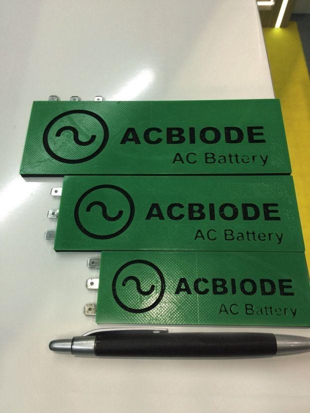 Une batterie révolutionnaire pas plus grande qu'un stylo.