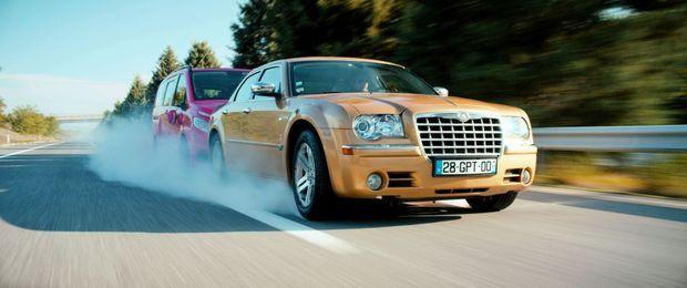 Une Chrysler très énervée!
