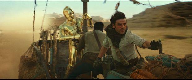 Une des premières images de « The Rise of Skywalker ».
