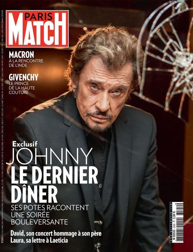 La Une de Paris Match n°3592, en kiosques jeudi.