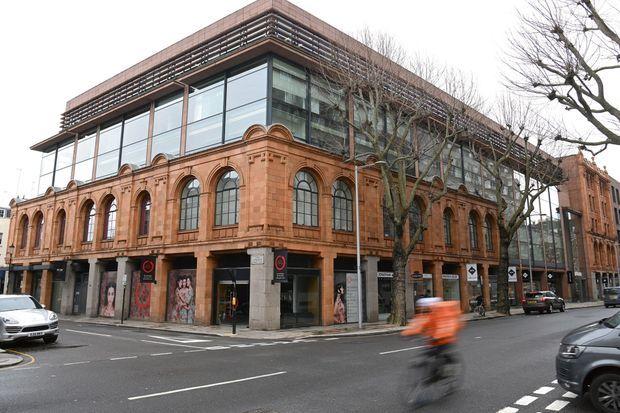 L'immeuble londonien, 60 Sloane Avenue, aujourd'hui propriété de la secrétairerie d'Etat, à l'origine d'un scandale de corruption.