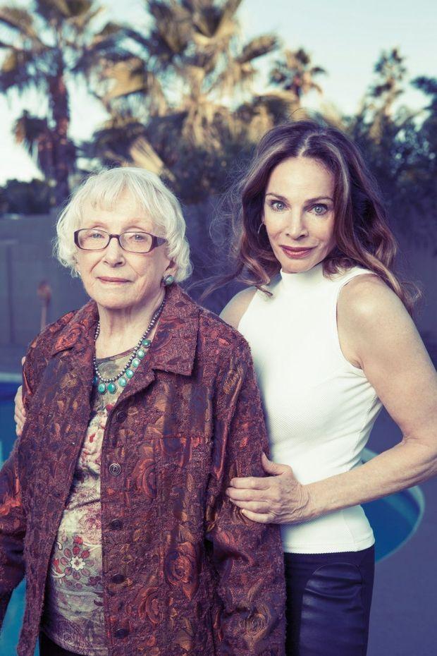 Natasha et sa mère, Winifred, 96 ans, qui, elle, ne veut pas vivre éternellement.