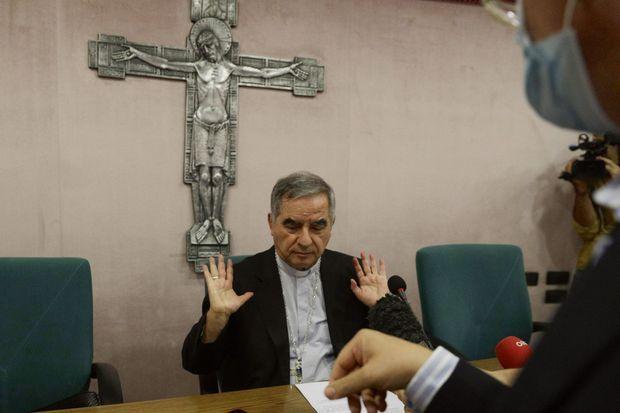 Le cardinal Angelo Becciu, 73 ans, en septembre 2020.